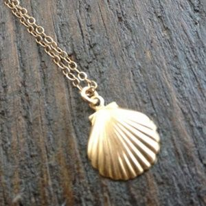 Jewelry - 5 for $25 Gold Color Sea Shell Charm Necklace